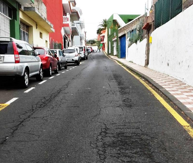 Obras de mejora de las calles San Juan y La Asomada