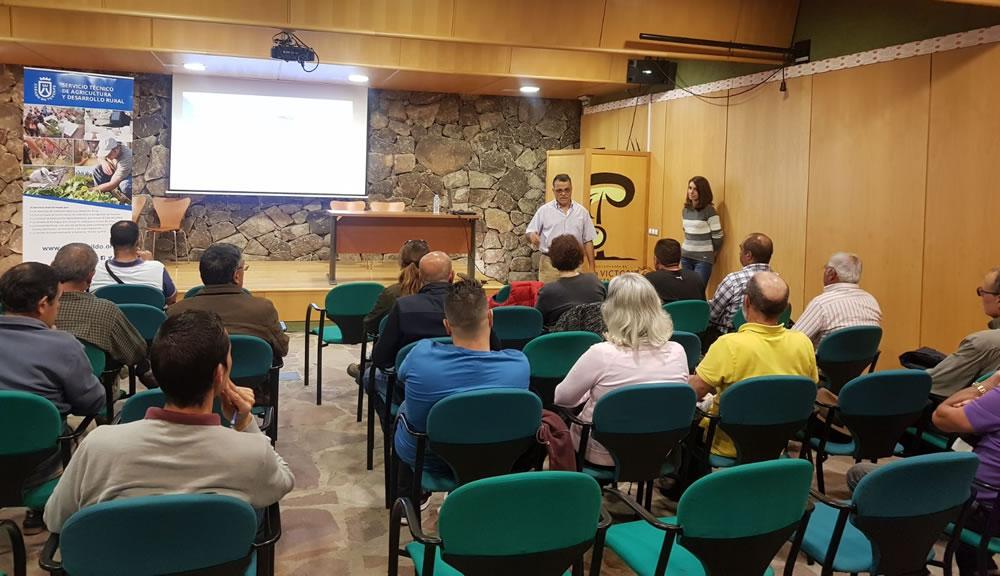 El pasado 1 de marzo tuvo lugar en la Casa de La Castaña y La Alfarería una charla sobre Plagas y Enfermedades de la Papa