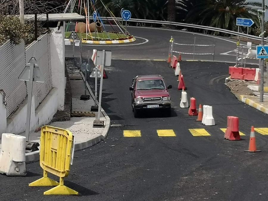 Resasfaltado del acceso al municipio