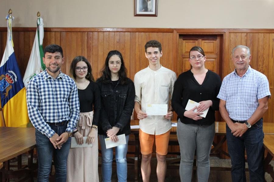 Entregados los premios de poesía y relato corto de La Victoria de Acentejo 2018