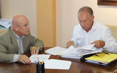 El Alcalde Haroldo Martín recibe al Diputado del Común