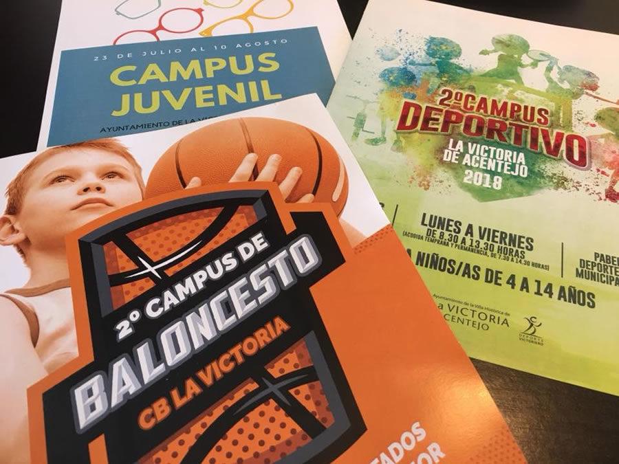 Las áreas de Deportes y Juventud ofrecen diferentes campus para este verano