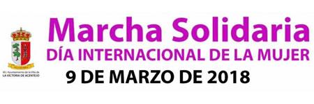 Marcha Solidaria el viernes 9 de marzo con motivo del Día Internacional de la Mujer