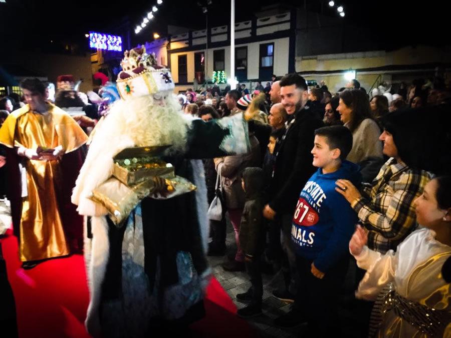 Mil personas reciben a los Reyes Magos en La Victoria de Acentejo