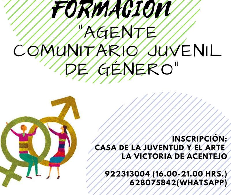 Formación «Agente Comunitario Juvenil de Género»