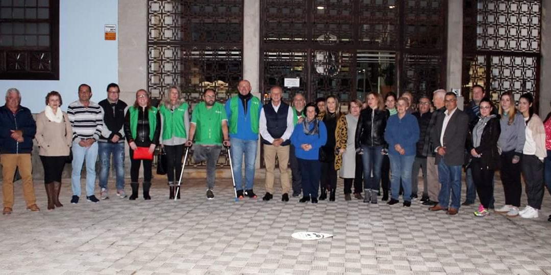 El Ayuntamiento de La Victoria de Acentejo se ilumina de verde como apoyo a la lucha contra el Cáncer