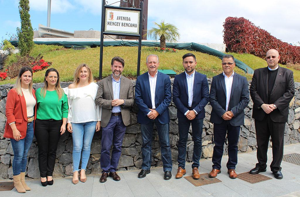 Más de 800.000 euros de inversión en el renovado acceso a La Victoria de Acentejo