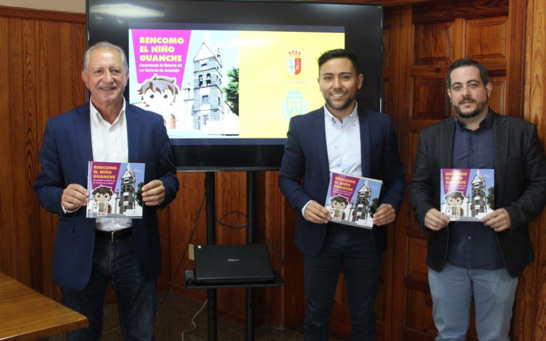 La concejalía de Cultura presenta el libro infantil «Bencomo, el niño guanche»