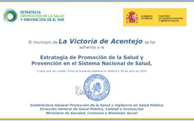 La Victoria de Acentejo municipio promotor de la salud