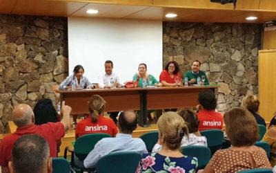 La consejera insular de Acción Social se reúne en La Victoria para coordinar el programa Ansina en la comarca