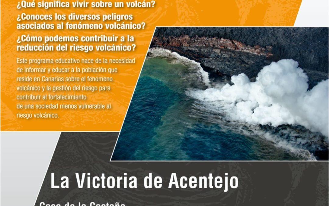El programa educativo 'Canarias: una ventana volcánica en el Atlántico' llega a La Victoria de Acentejo