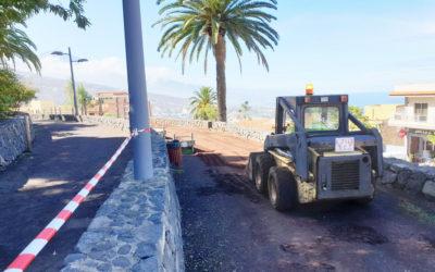 El Ayuntamiento de La Victoria emprende la mejora del Parque El Pinar