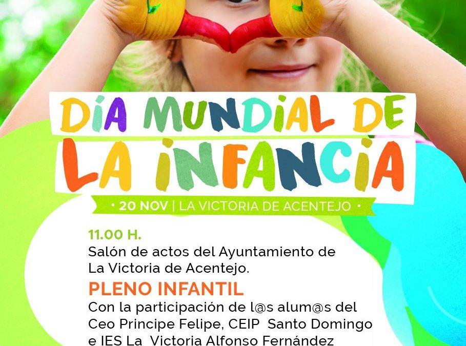 Día Mundial de la Infancia en La Victoria de Acentejo