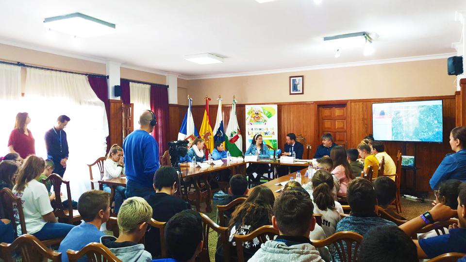 El Ayuntamiento de La Victoria de Acentejo celebra un pleno infantil