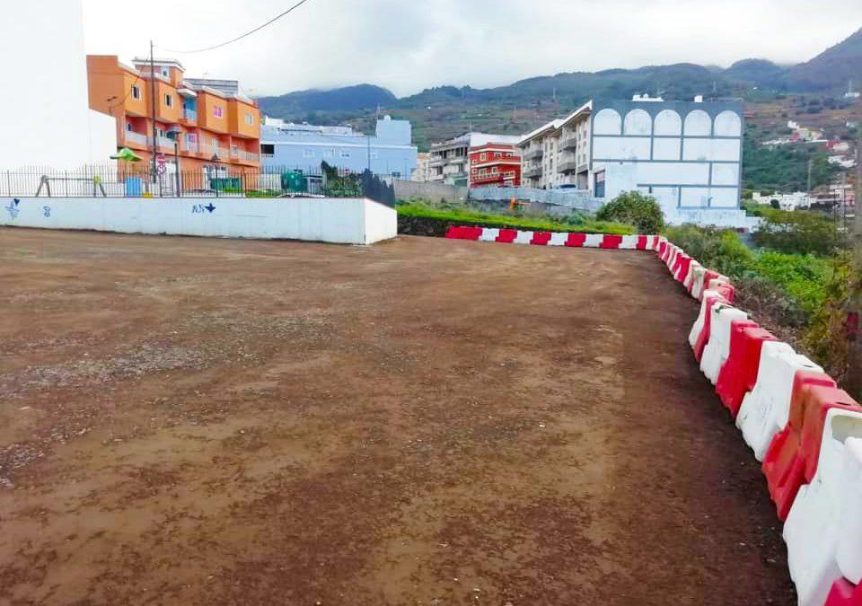 El Ayuntamiento acondiciona nuevos espacios para aparcar