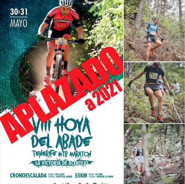 El Ayuntamiento de La Victoria suspende la celebración de las citas deportivas Hoya del Abade Tenerife MTB Maratón y Castáñate