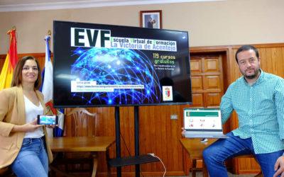 El Ayuntamiento pone en marcha la Escuela Virtual de Formación, con 119 cursos gratuitos a través de Internet