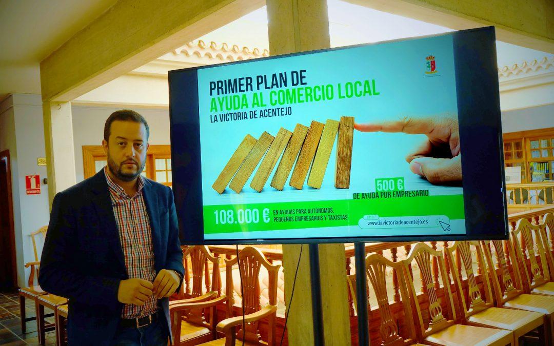 El Ayuntamiento de La Victoria lanza su I Plan de Ayuda a Empresarios y Autónomos frente al COVID-19