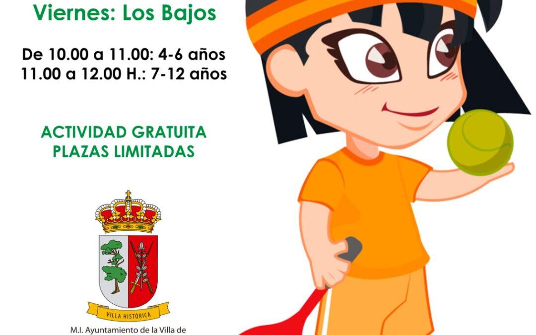El Ayuntamiento promueve la práctica deportiva infantil por los barrios del municipio