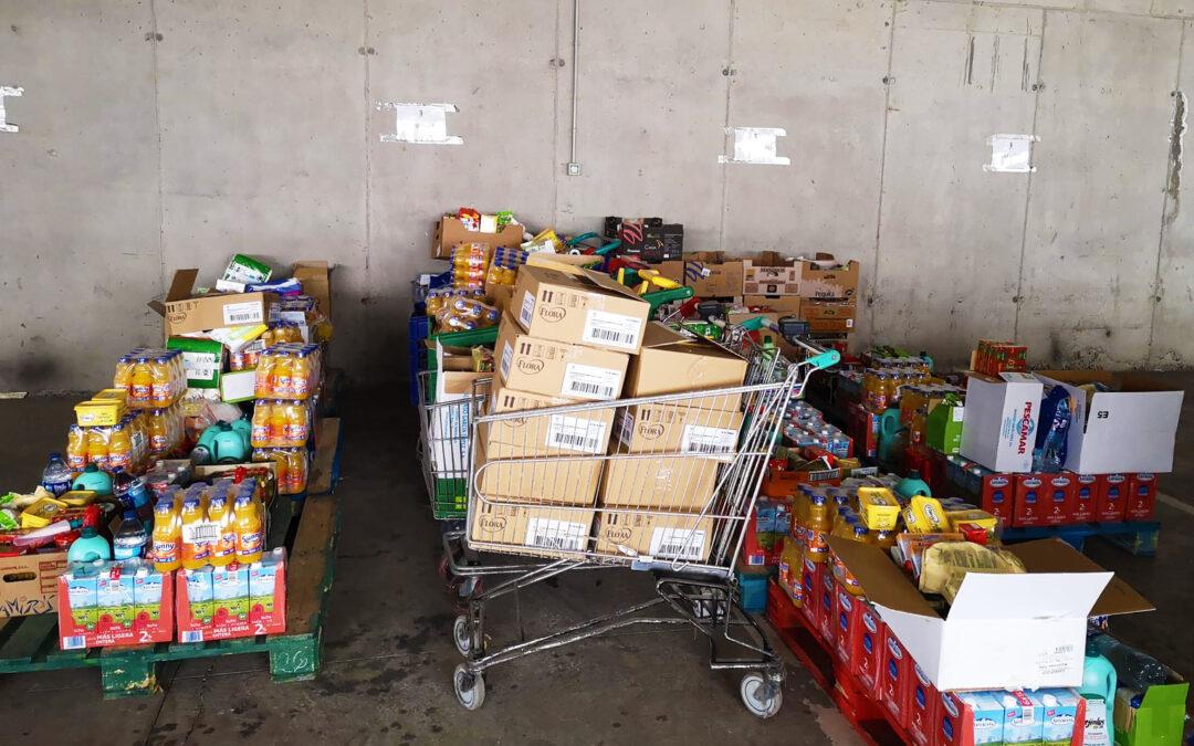 La Asociación Tagoro Victoriero recibe una subvención de 6.000 euros de La Caixa para ayudar a las familias más necesitadas