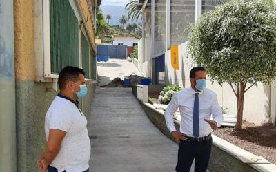 El Ayuntamiento de La Victoria de Acentejo acomete obras de reparación, adecuación y mejora en los tres colegios del municipio