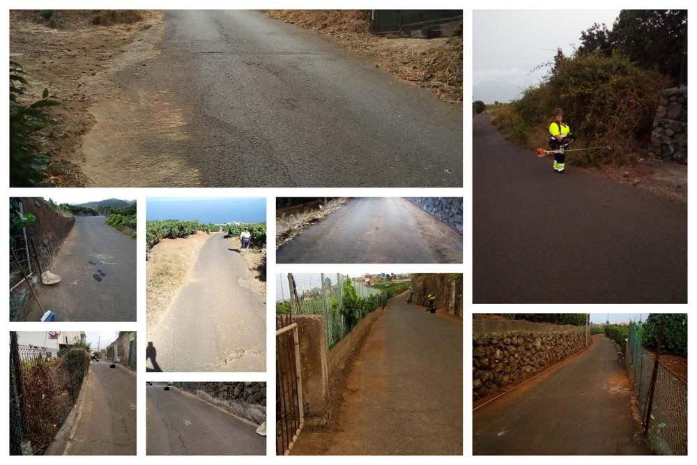 El Consistorio acomete la limpieza y acondicionamiento de caminos y pistas rurales