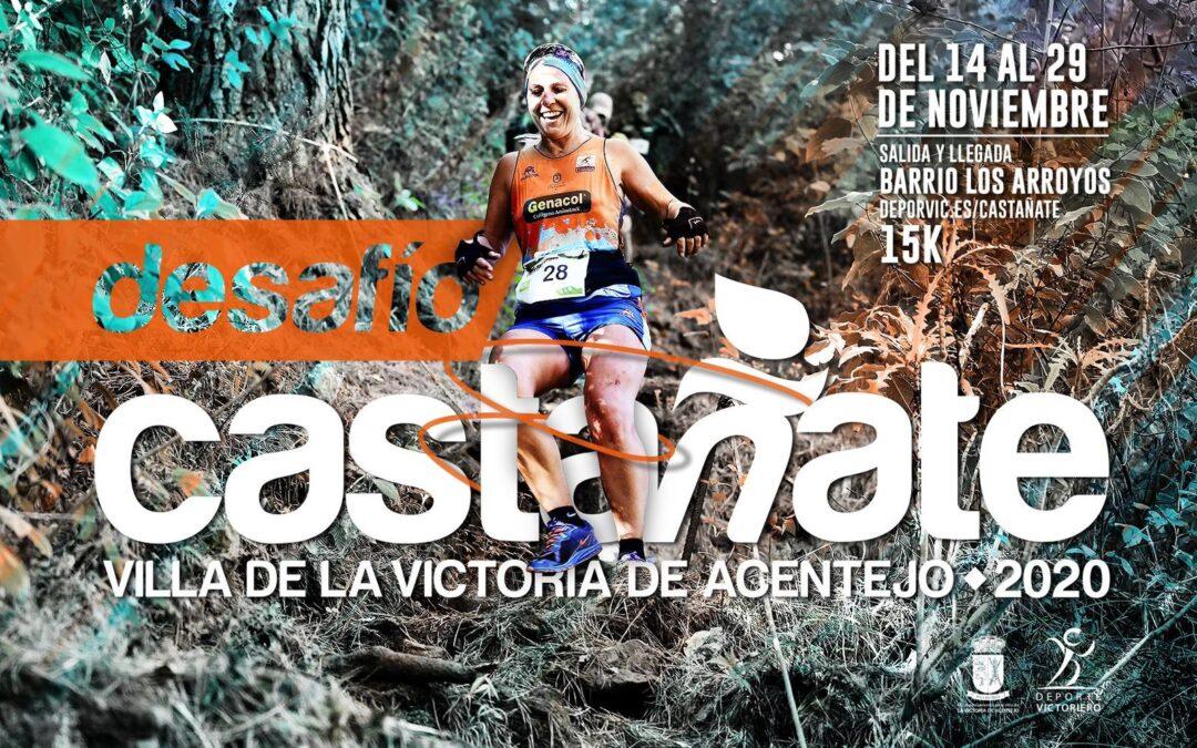 Esta semana abre el plazo para participar en la prueba deportiva Desafío Castáñate 15k