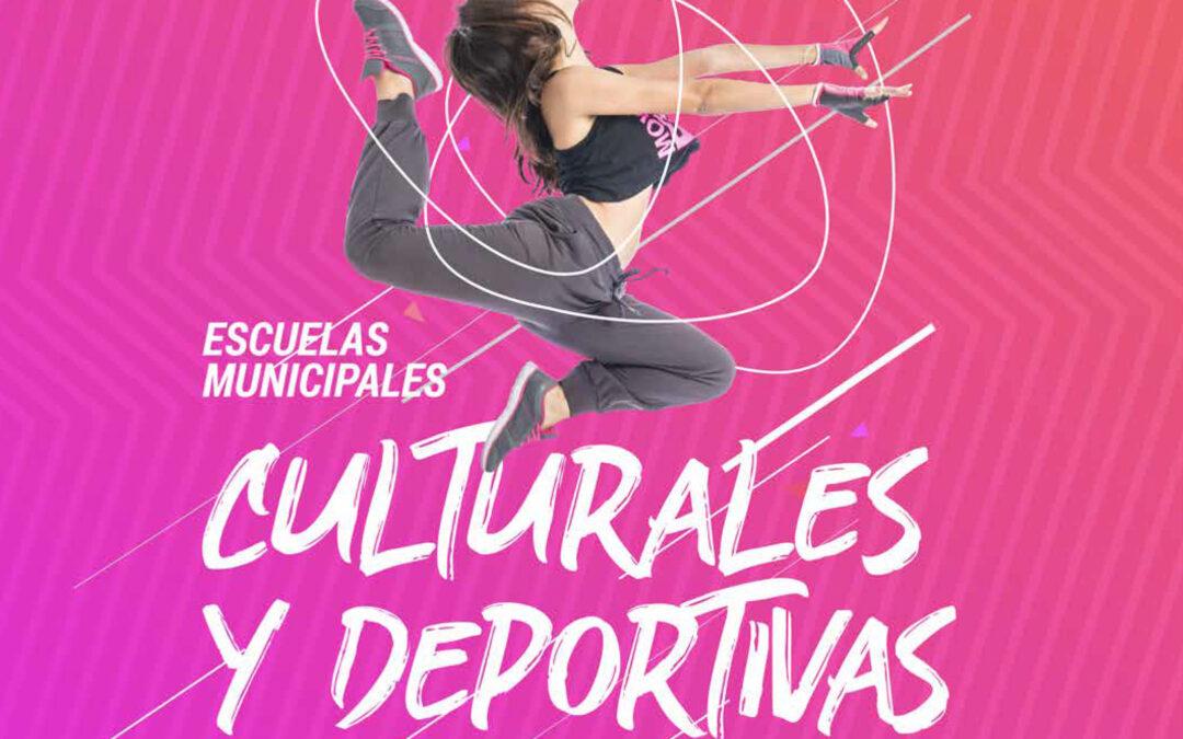 Abierto el plazo de inscripción en las Escuelas Culturales y Deportivas