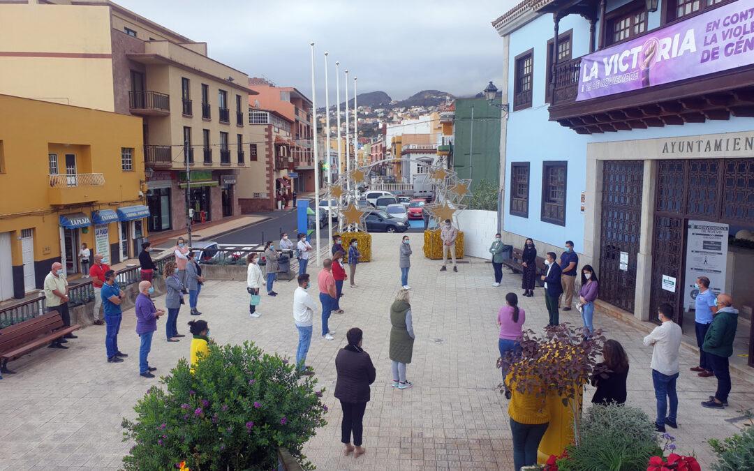 El Ayuntamiento de La Victoria de Acentejo muestra su repulsa hacia la violencia de género
