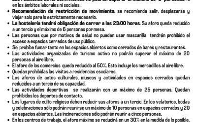 El Gobierno de Canarias impone nuevas MEDIDAS frente a la COVID-19
