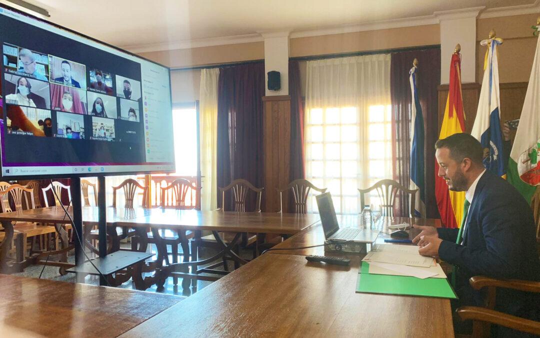 Niños y niñas de La Victoria de Acentejo se convierten en concejales por un día