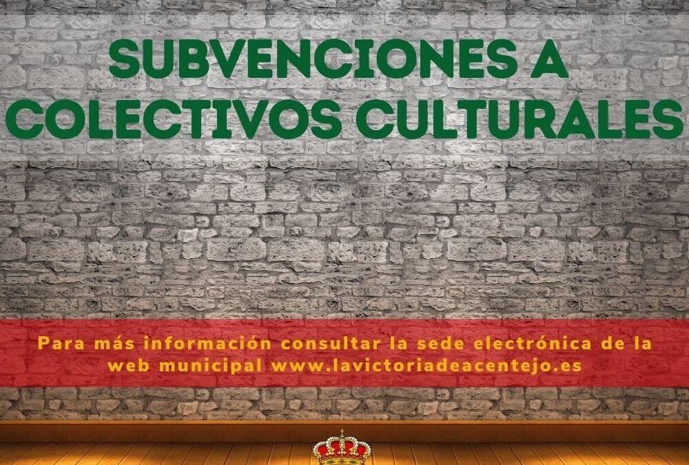 Publicado el listado de beneficiarios/as de las subvenciones a personas y entidades culturales