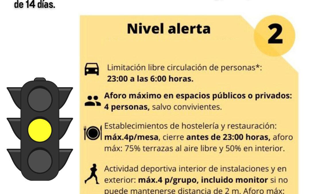 El Gobierno de Canarias acuerda que Tenerife pase al NIVEL 2