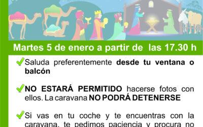Los Reyes Magos visitarán todos los barrios de La Victoria de Acentejo
