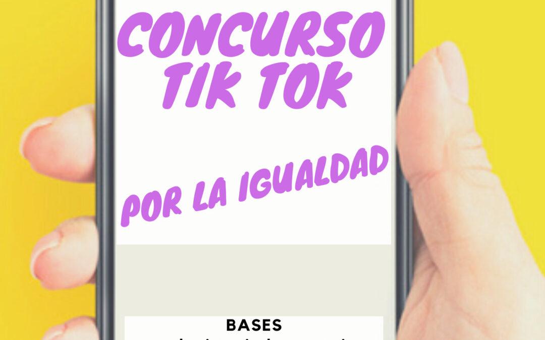 El Ayuntamiento promueve un concurso de tik tok para fomentar la igualdad entre los jóvenes