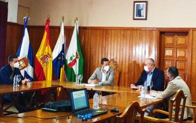 El vicepresidente del Cabildo y el Director Insular de Carreteras visitan La Victoria de Acentejo