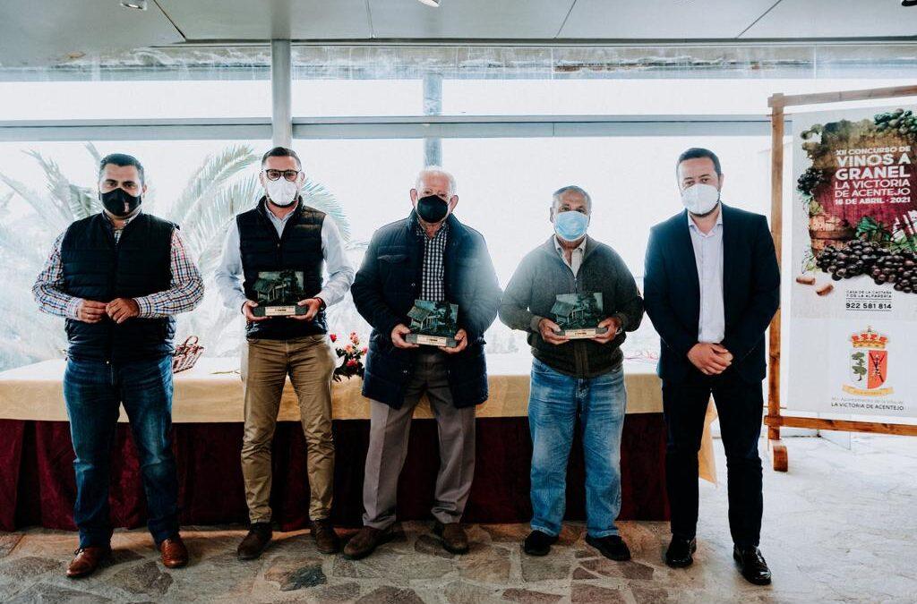 Entrega de premios del XII Concurso de Vinos a Granel de La Victoria de Acentejo