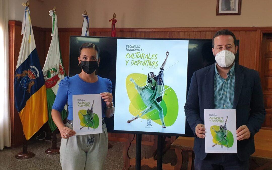 Las escuelas municipales de La Victoria de Acentejo brindan 30 propuestas formativas